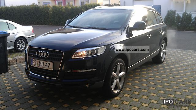 2006 Audi  Q7 4.2, 3.Sitzreihe VAT can be recovered! Standhz. Limousine Used vehicle photo