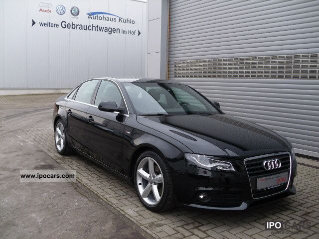 2010 Audi A4 Saloon 2.0 TDI S Line - Car Photo and Specs