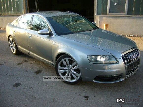 2006 audi s6 5 2 v10 quattro tiptronic 2007 navi mod car photo and specs. Black Bedroom Furniture Sets. Home Design Ideas