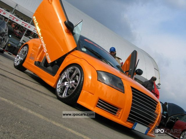 Audi  TUNING TT 231cv unica al mondo, 10 TV / DVD 2000 Tuning Cars photo