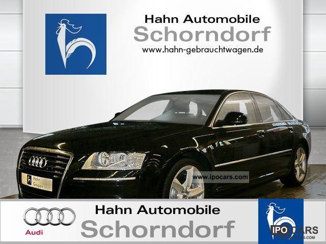 2008 Audi  A8 4.2 FSI natural leather comfort seats, solar navigation Limousine Used vehicle photo