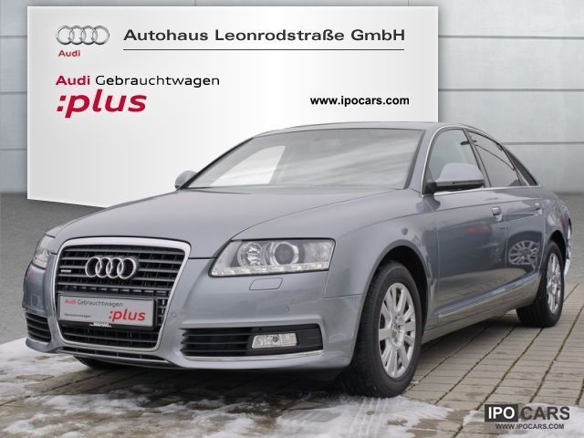 2010 Audi  A6 Saloon 2.7 TDI qu. Luftfed. Leather Standhz. Limousine Used vehicle photo