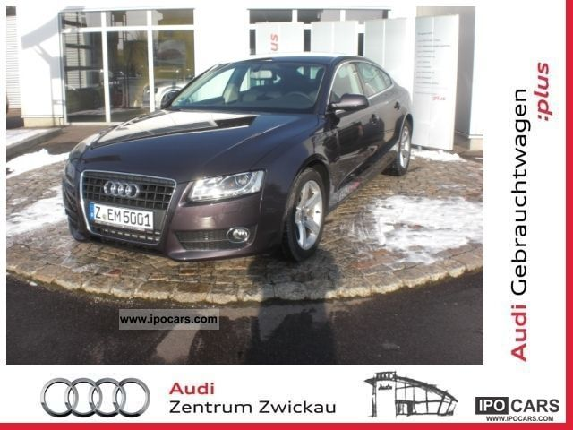 2012 Audi  A5 Sportback 2.0 TFSI 6-speed Limousine Employee's Car photo