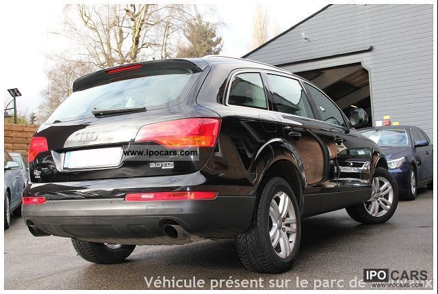 2007 audi q7 v6 3 0 tdi ambition luxe 7pl car photo and specs. Black Bedroom Furniture Sets. Home Design Ideas