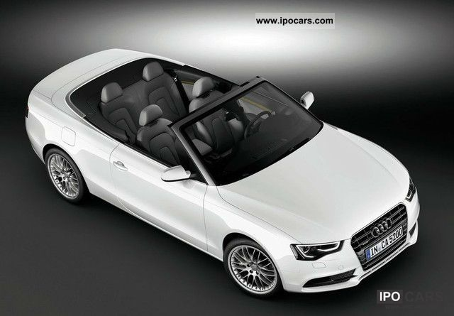 2011 Audi A5 Cabriolet 2.0 TDI Cabrio / roadster New vehicle photo