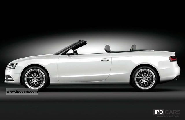 2011 Audi A5 Cabriolet 2.0 TDI Cabrio / roadster New vehicle photo 1