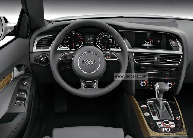 2011 Audi A5 Cabriolet 2.0 TDI Cabrio / roadster New vehicle photo 4