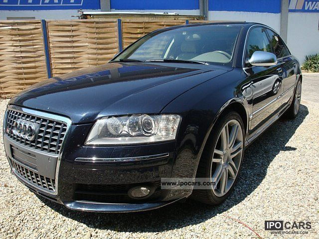 2007 audi s8 5 2 v10 fsi tiptronic car photo and specs. Black Bedroom Furniture Sets. Home Design Ideas