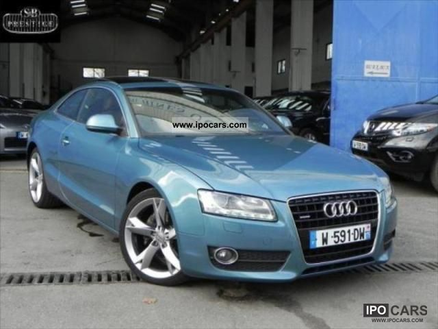 2008 audi a5 3 0 v6 tdi 240 ambition luxe bva car photo and specs. Black Bedroom Furniture Sets. Home Design Ideas