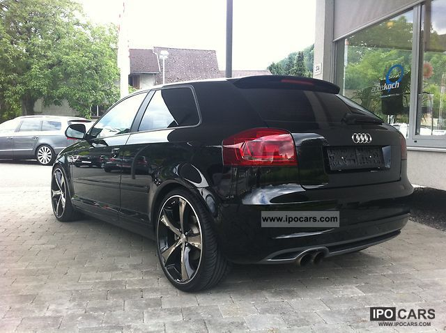 2009 audi a3 2 0 tfsi s tronic s line plus 20 car photo and specs. Black Bedroom Furniture Sets. Home Design Ideas