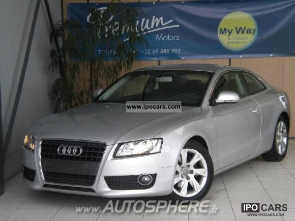 2009 Audi  A5 2.7 TDI190 ambience DPF Multitronic Sports car/Coupe Used vehicle photo