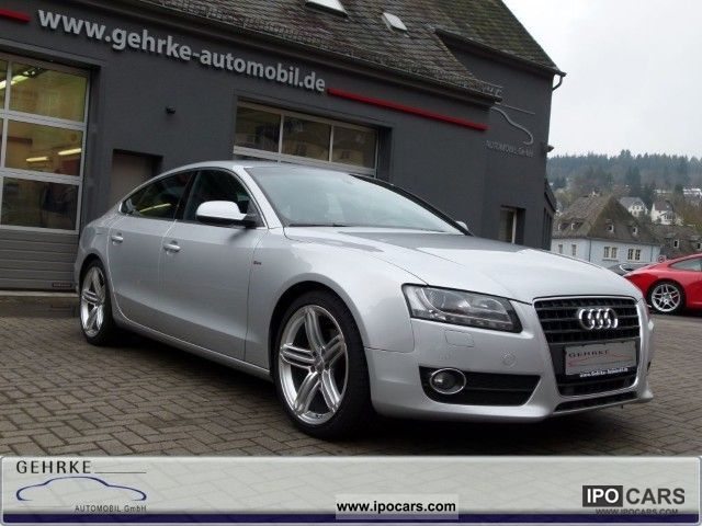 2010 Audi  A5 2.7TDi S-Line Plus, 19', Bang & Olufsen, camera Limousine Used vehicle photo