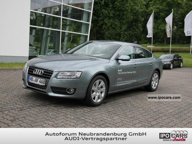 2011 audi a5 sportback car photo and specs. Black Bedroom Furniture Sets. Home Design Ideas