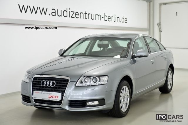 2010 Audi  A6 Saloon 2.7 TDI multitronic NAVI XENON ALU Limousine Used vehicle photo