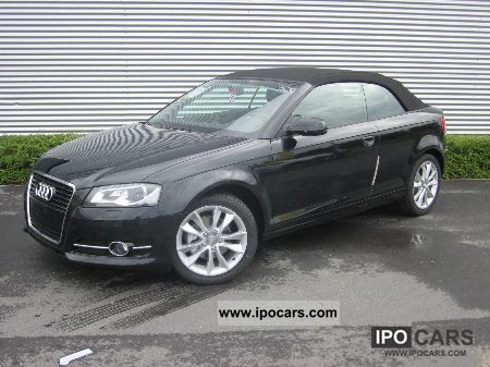 2012 audi a3 cabriolet 2 0 tdi 140 cv ambition car photo. Black Bedroom Furniture Sets. Home Design Ideas