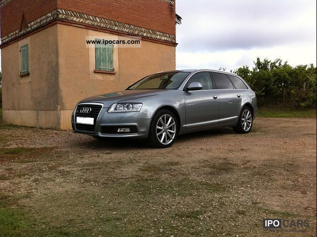 2009 Audi  A6 AVANT QUATTRO 3.0L TDI TIPTRONIC AVUS Estate Car Used vehicle photo