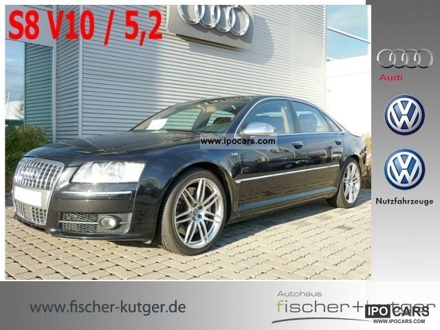 2007 Audi  S8 5.2 FSI, memory, massage, heater, TV qu Limousine Used vehicle photo