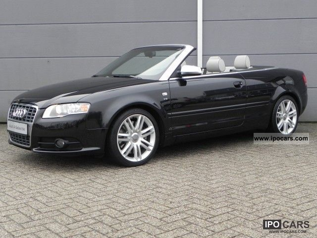 2007 audi s4 cabriolet 4 2 v8 quattro tiptronic car photo and specs. Black Bedroom Furniture Sets. Home Design Ideas