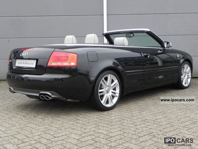 2007 audi s4 cabriolet 4 2 v8 quattro tiptronic car. Black Bedroom Furniture Sets. Home Design Ideas