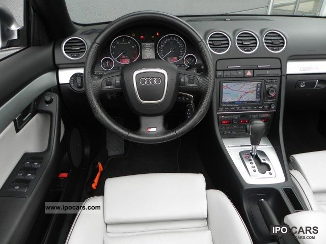 2007 Audi S4 Cabriolet 4 2 V8 Quattro Tiptronic Car