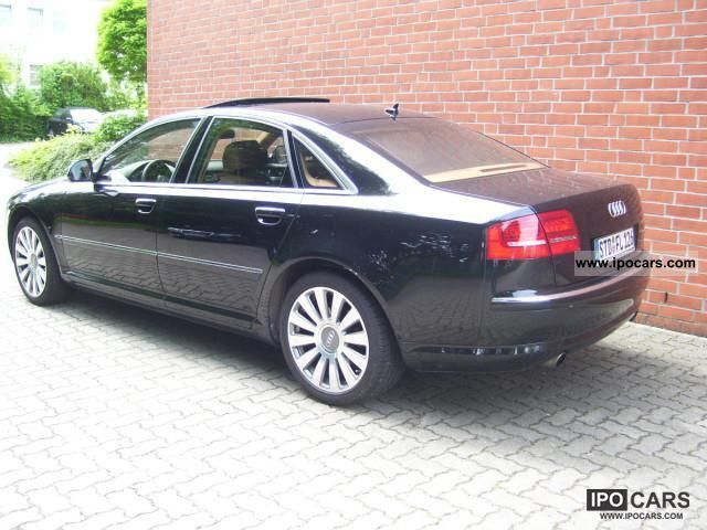 2009 audi a8 4 2 quattro automatic car photo and specs. Black Bedroom Furniture Sets. Home Design Ideas