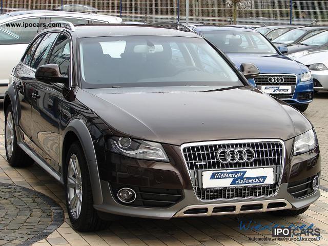 2011 Audi  A4 Allroad 2.0 TDi Xenon Plus / MMI navigation / Businessp Estate Car New vehicle photo