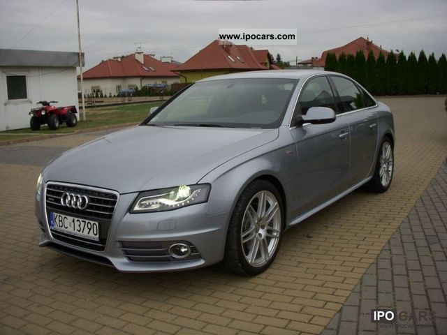 2011 audi a4 2 0 tfsi quattro s line car photo and specs. Black Bedroom Furniture Sets. Home Design Ideas
