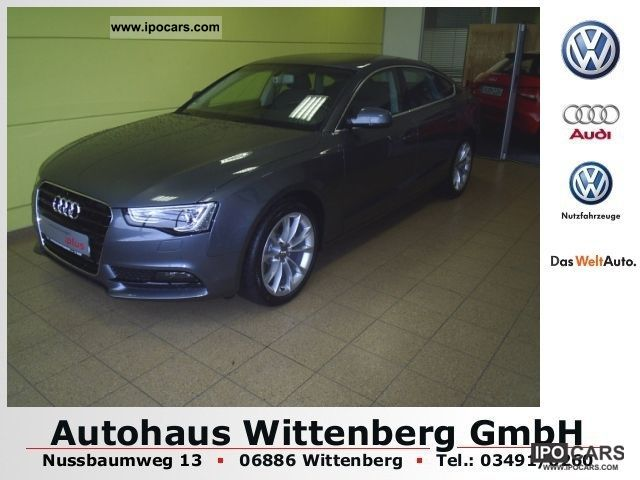 2012 Audi  A5 Sportback 1.8 TFSI Limousine Demonstration Vehicle photo