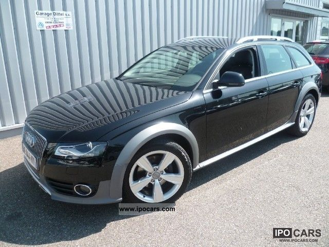2009 Audi  A4 Allroad 3.0 TDI Ambition Luxe Stro Estate Car Used vehicle photo
