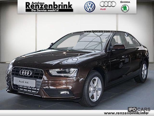 2012 Audi A4 1.8 TFSI 125 170 kWPS ambience multitronic Limousine Pre ...