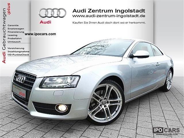 2009 Audi  A5 TDI DPF 2.0 quattro 6-speed HDD NAVI Sports car/Coupe Used vehicle photo