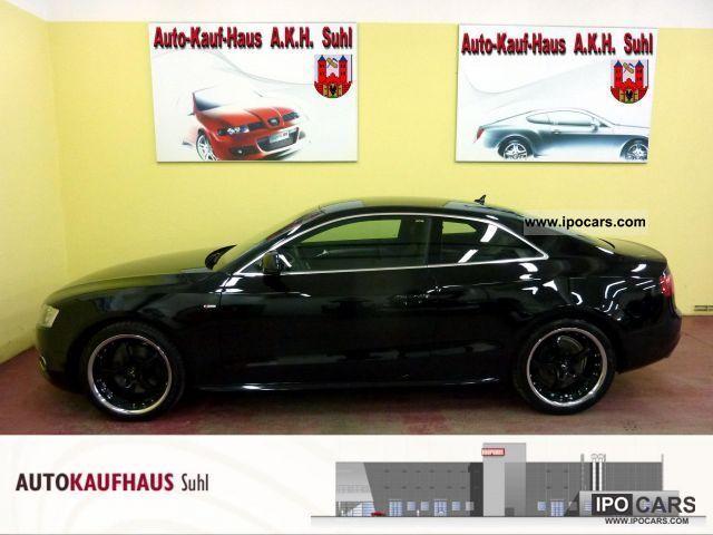 2009 Audi  A5 2.7 TDI + + + + B & O/KEY/MMI/2xS-Line/VOLL Sports car/Coupe Used vehicle photo