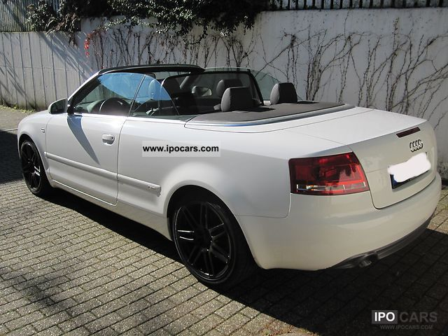 2009 Audi A4 Cabriolet 3 0 Tdi Quattro Car Photo And Specs