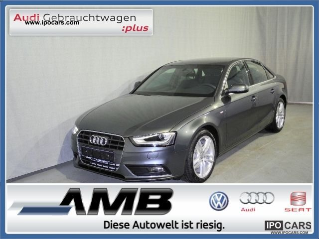 2012 Audi A4 S line 2 0 TDI * new model * / Xenon/18'' / MFL / - Car