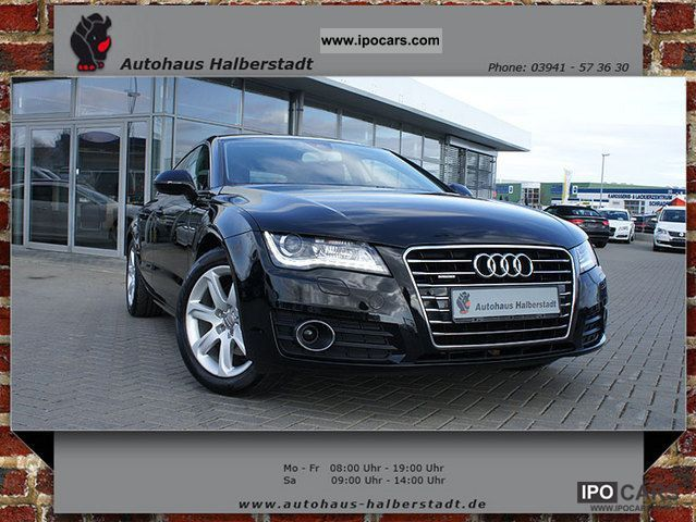 2011 Audi  A7 Sportback 2.8 FSI quattro SD / camera / GPS / ACC / Sports car/Coupe Used vehicle photo
