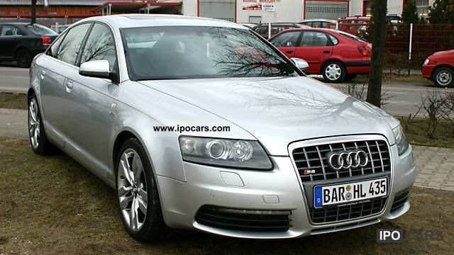 Audi S V Car Photo And Specs - V10 audi s6