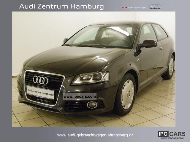 2011 Audi  Ambition A3 3-door 2.0 TDI 125 (170) kW (PS) S tr Limousine Used vehicle photo