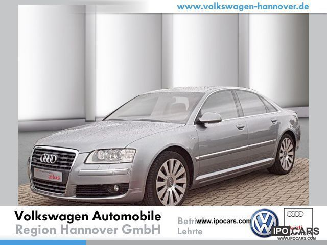 2007 Audi  A8 6.0 W12 quattro Tiptronic leather navigation Limousine Used vehicle photo