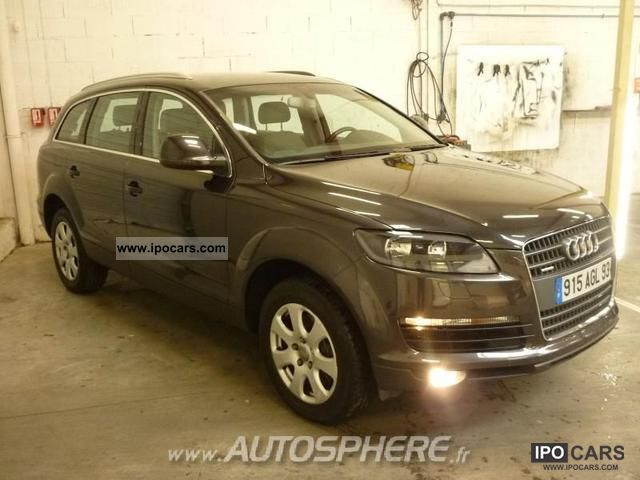 2007 audi q7 3 0 tdi ambiente ttro 7pl car photo and specs. Black Bedroom Furniture Sets. Home Design Ideas