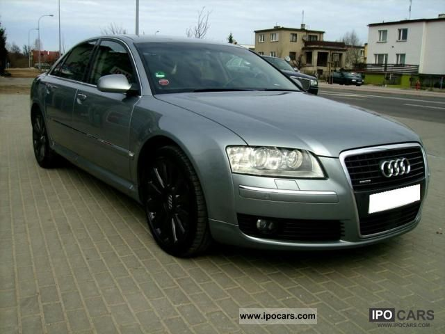 2007 Audi  A8 CAMERA, KEY LESS GO, BOSSES, QUATTRO Limousine Used vehicle photo
