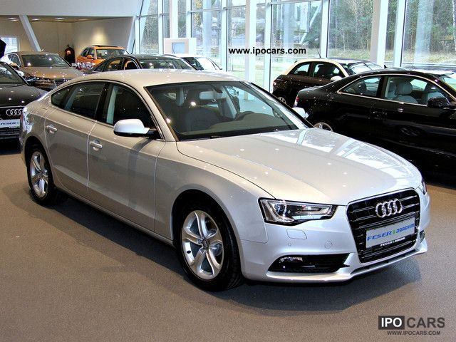 2012 Audi  A5 Sportback - Xenon, Bluetooth, Sitzhzg, ..... Estate Car Demonstration Vehicle photo