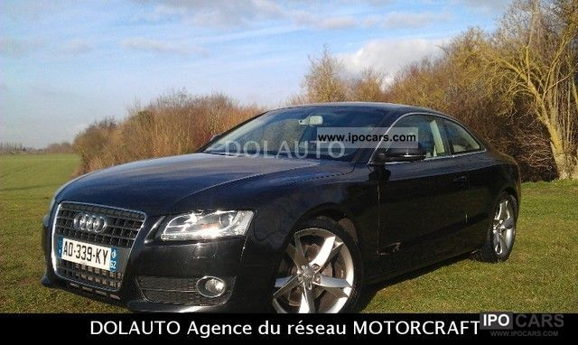 2009 Audi  A5 2.7 V6 TDI 190 DPF Ambition Multitronic Luxe Sports car/Coupe Used vehicle photo