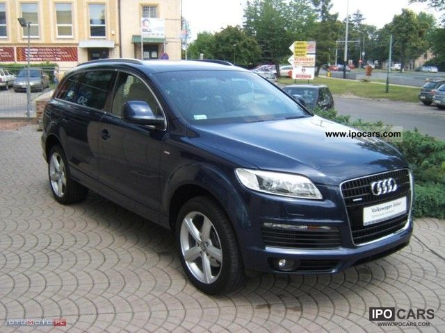 2008 audi panoramic q7 s line car photo and specs. Black Bedroom Furniture Sets. Home Design Ideas