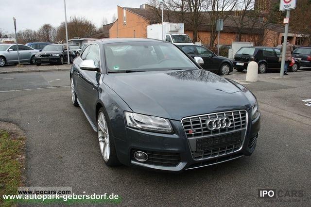 2009 Audi  S5 tiptronic / Keyless Go / rear camera / 20 \ Sports car/Coupe Used vehicle photo