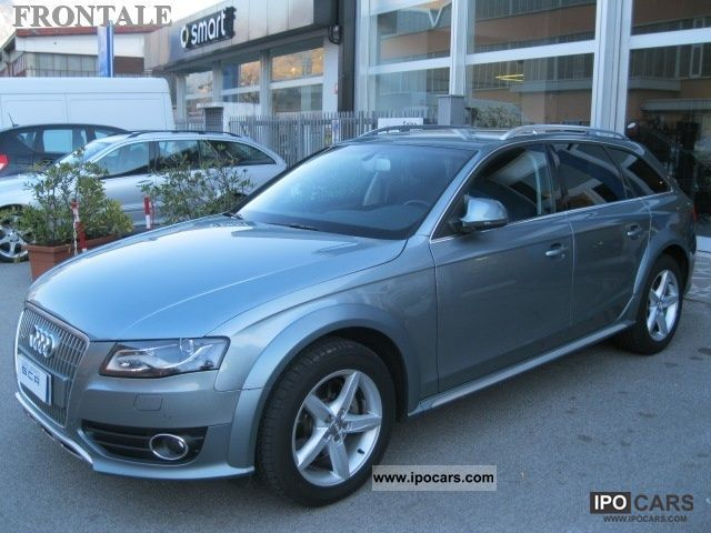 2009 Audi  A4 allroad 3.0 TDI V6 F.AP. S tr Adv Estate Car Used vehicle photo