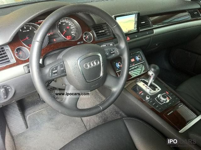 2009 Audi A8 2 8 V6 Fsi Multitronic 210 E A Car Photo And Specs