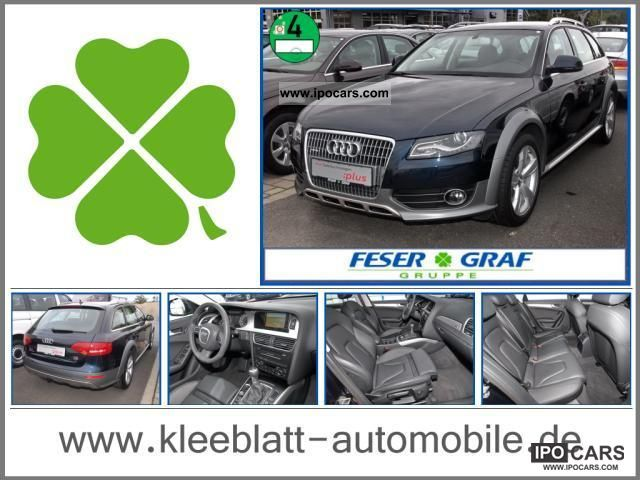 2010 Audi  A4 Allroad 2.0 TDI Leather / Navi + / Xenon/18 '/ APC / Ala Estate Car Used vehicle photo