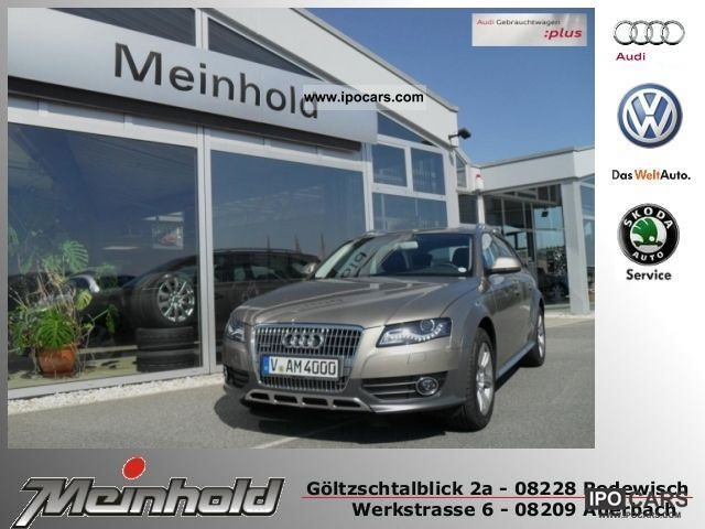 2011 Audi  A4 allroad MMI APC XENON TEL. APS Estate Car Demonstration Vehicle photo