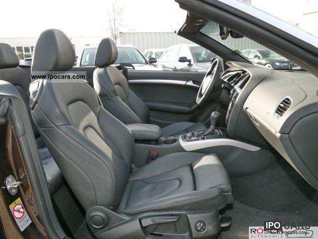 2011 audi a5 cabriolet 2 0 tfsi 180ps 132kw multitronic. Black Bedroom Furniture Sets. Home Design Ideas