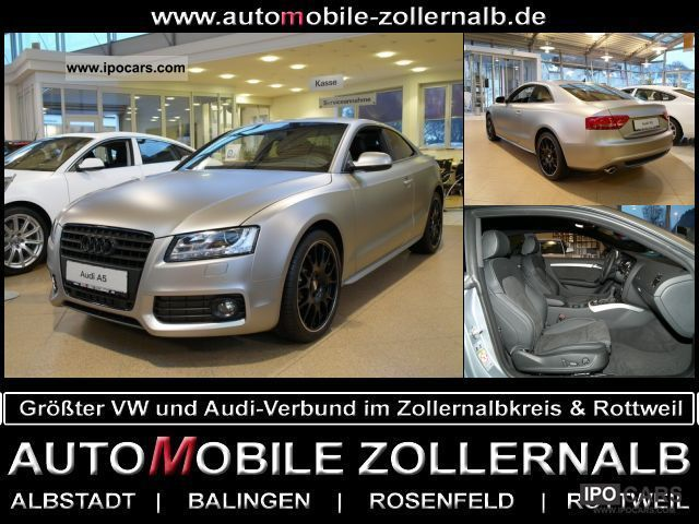 2011 Audi  A5 2.7 TDI multitronic Sports car/Coupe Demonstration Vehicle photo